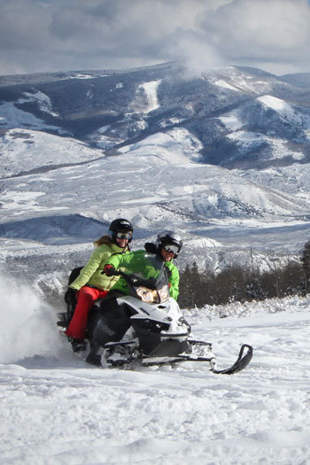 Sage Outdoor Snowmobiling
