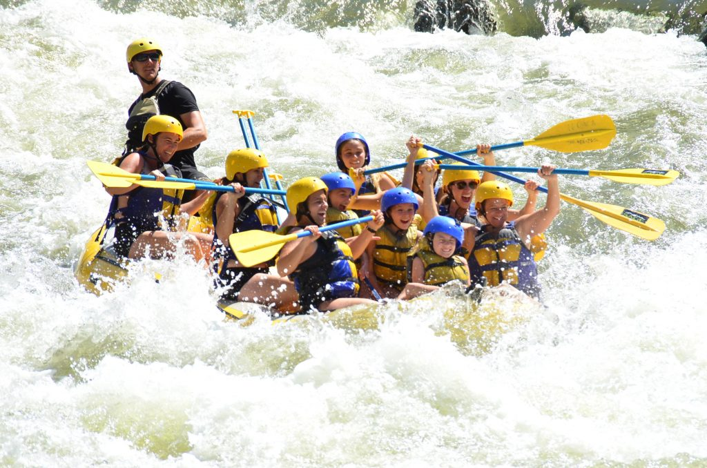 Take a Summer Rafting Trip down one of Colorado's many rivers