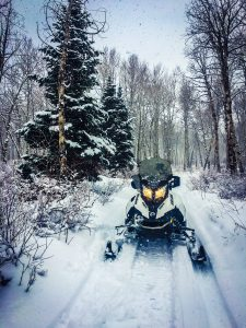 Holiday Snowmobile tours