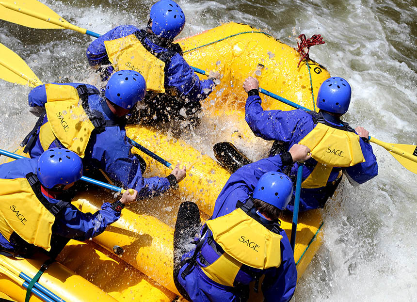Certain Rafts encourage teamwork more than others