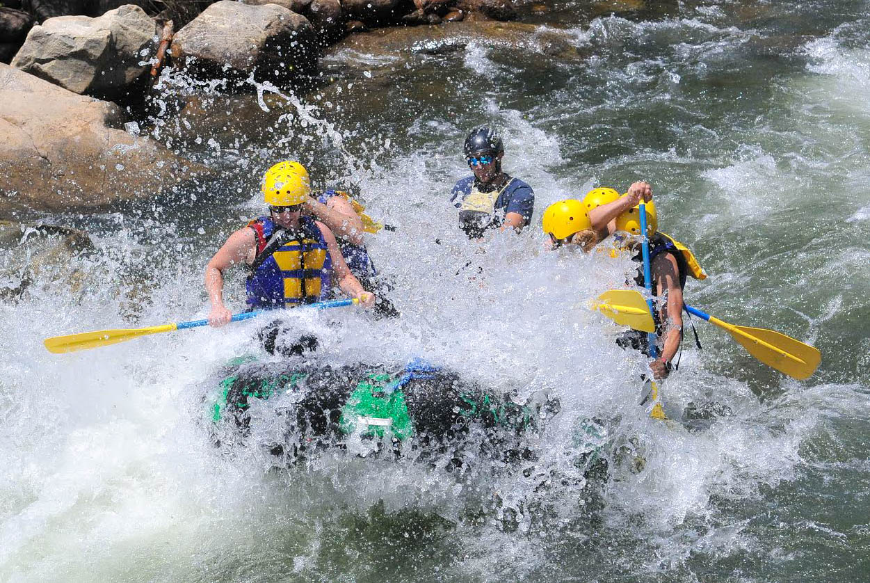 Colorado's Arkansas River is perfect for rafting