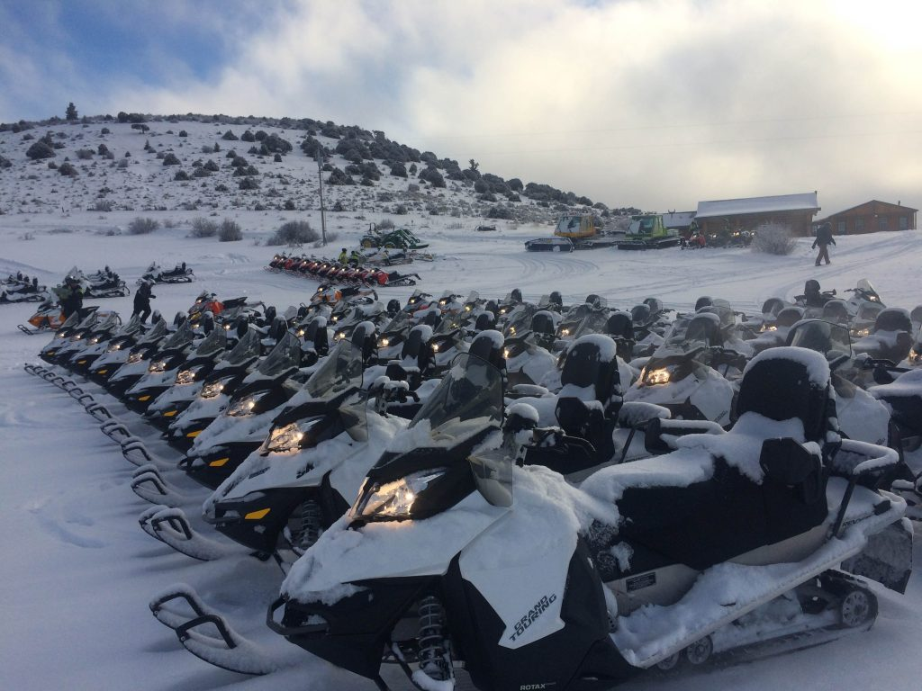Preparing our Snowmobiles for another winter season