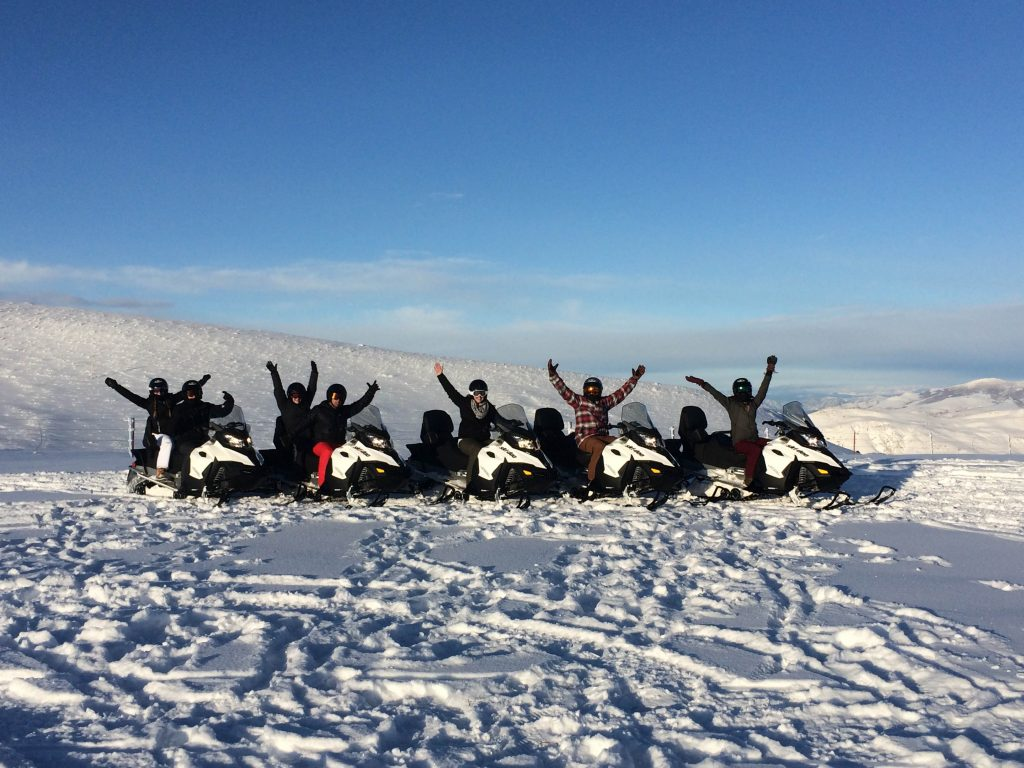A Snowmobiling Tour Tailored to Any Group