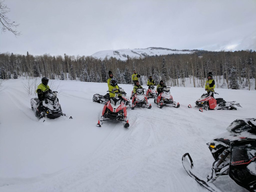 Learning how to Ride your Snowmobile