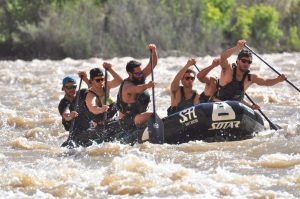 Our experienced Guides often compete nationally, including in rafting races