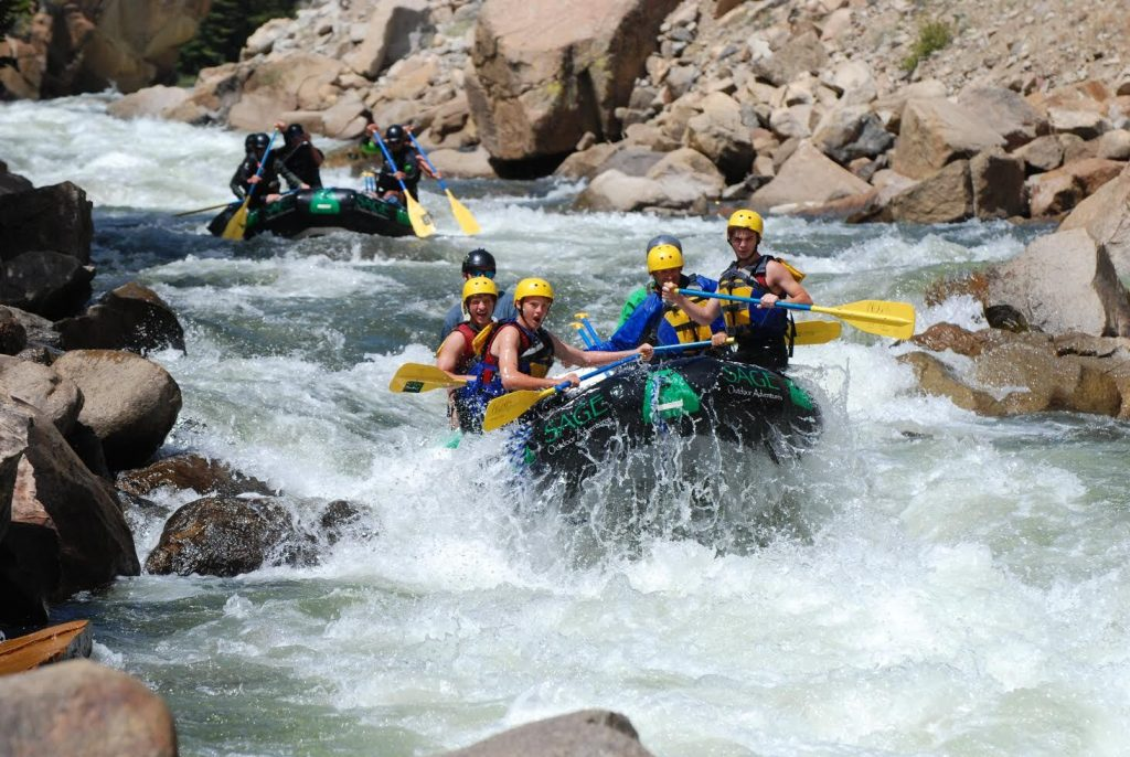 Summer Season Rafting