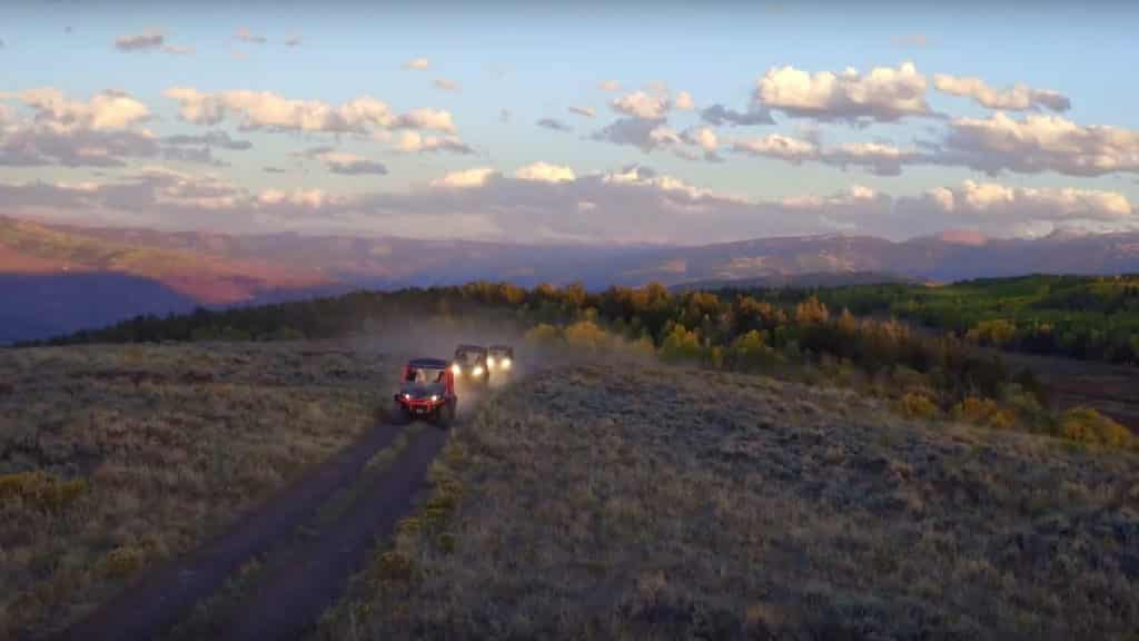 Side-by-Side ATV Trips near Vail