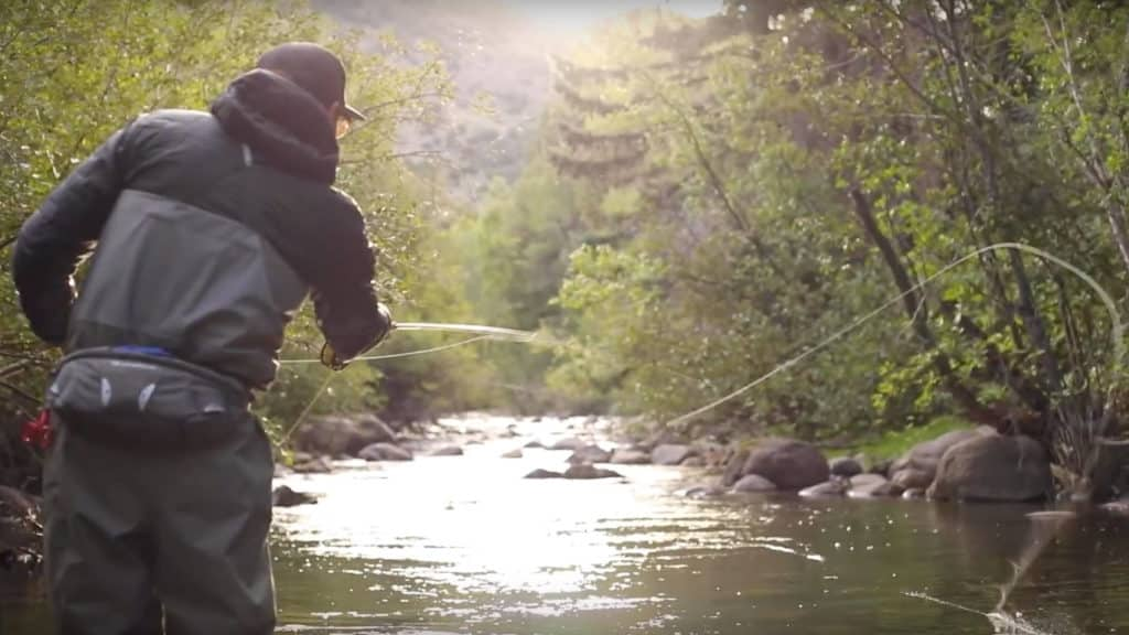 Fly Fishing on the Piney River near Vail
