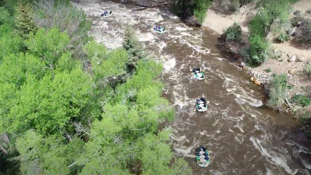 Whitewater Rafting in Colorado on the Eagle River